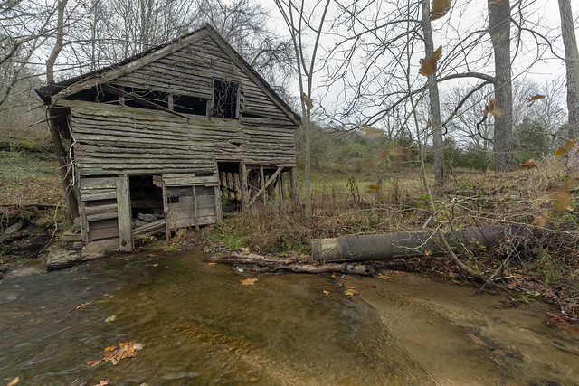 Parrott Mill remains, Little Eagle Creek, Overton County, Tennessee 3