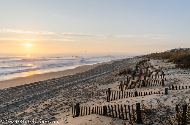 Outer Banks sand fences-1
