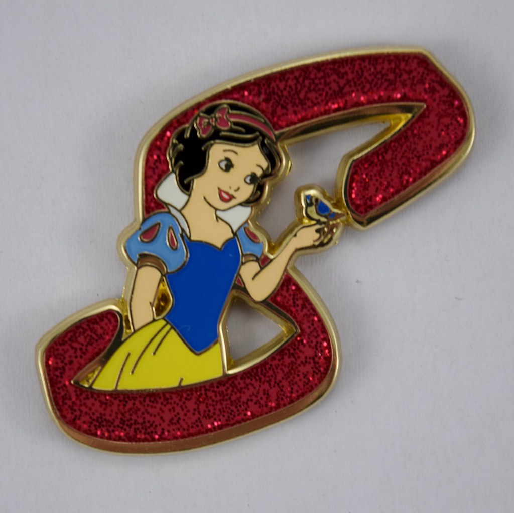 af957033 ... Disney Princess Letters Mystery Pin Collection - Disneyland Purchase -  Snow White   by drj1828