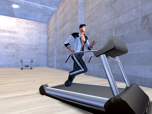 Second Life Israel - Only 5 More Miles To Work Off Dinner...
