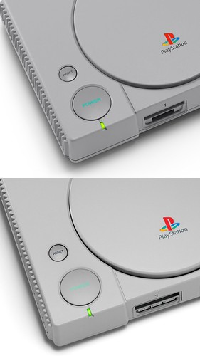 PlayStation Classic comparison photo | by PlayStation.Blog