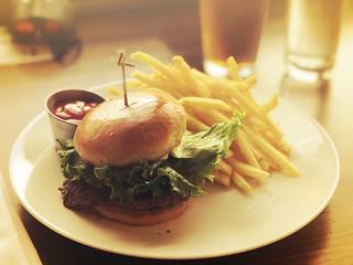 Waygu beef burger   by sarahstierch