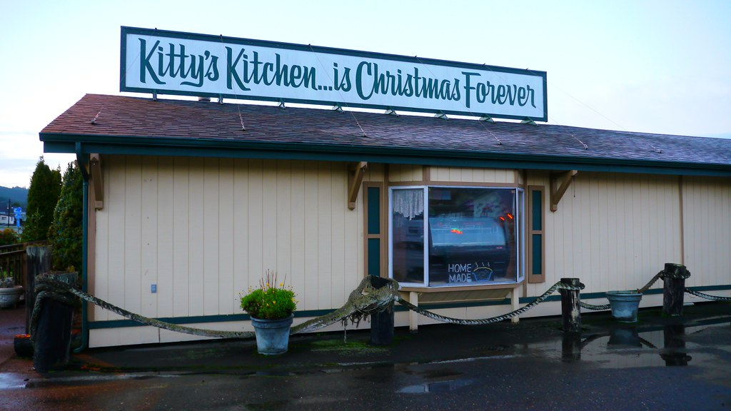 Kitty S Kitchen At Salmon Harbor In Winchester Bay Oregon