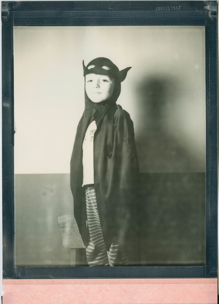 Superhero (Polaroid 8x10)   Portrait Camera: Intrepid 8x10 L…   Flickr