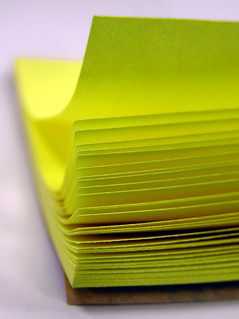 Yellow Post Its | by libraryman