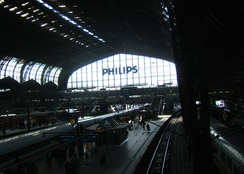 Hamburg hbf central hall
