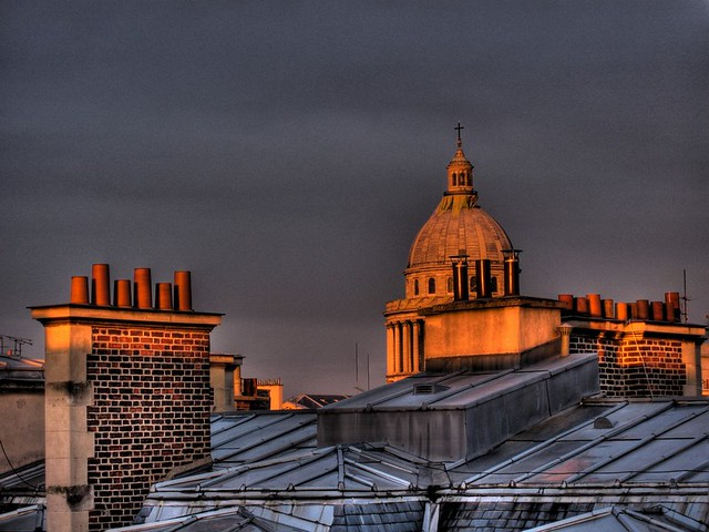 Sunset on the Panthéon