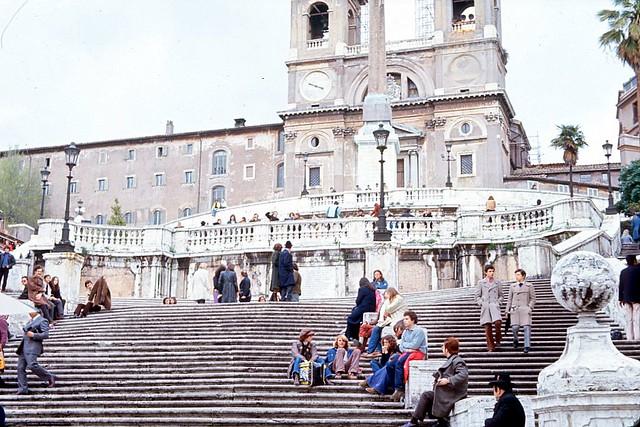 Spanish Steps, Rome 1972