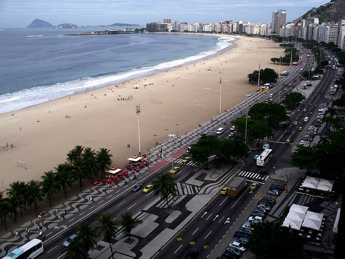 Copacabana from the hotel roof | by tsc_traveler