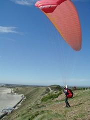 Zoutelande  Paragliding