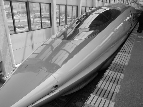 500系新幹線 500-series Shinkansen | by kamoda