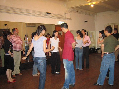 Beginners class at the Fringe Club