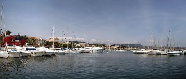Bandol Harbour Panorama