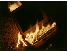 Laptop flambe | by Chris & Lara Pawluk