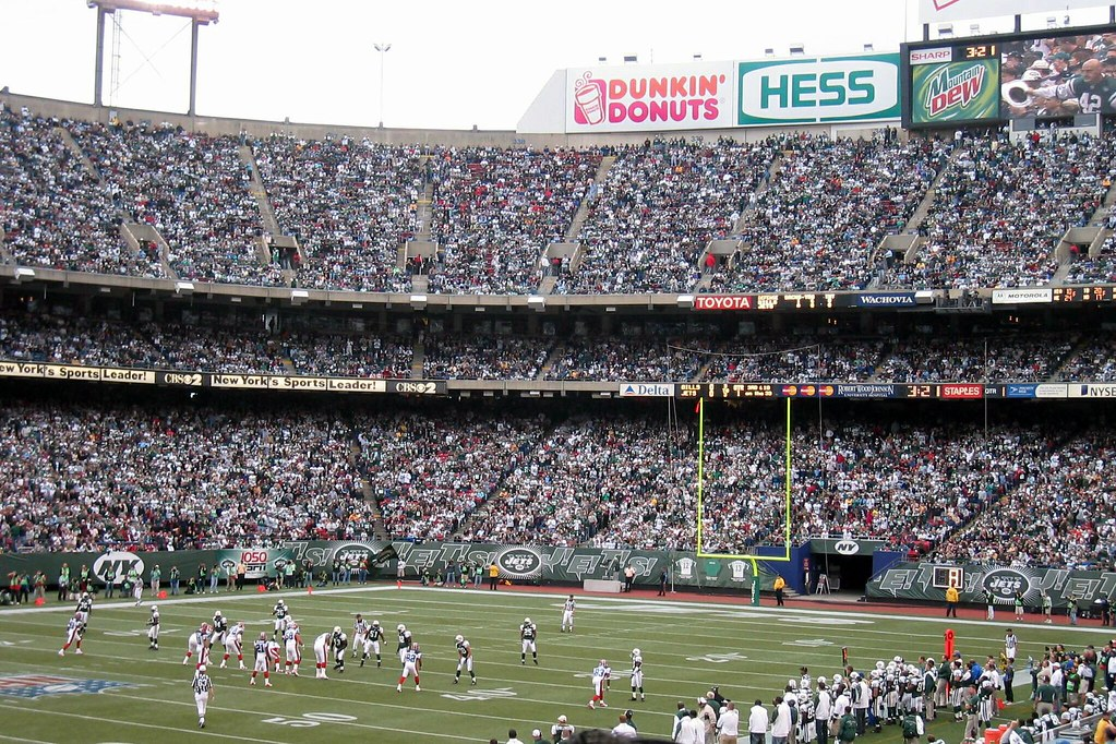 official photos 6a7ba f4b9a NJ - East Rutherford: Giants Stadium - Jets vs. Bills | Flickr