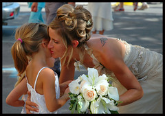 The bride and her daughter?