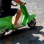 かわいい原チャリ/cute scooter