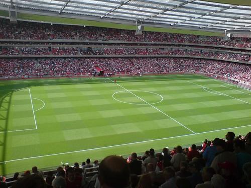 Emirates Stadium, East Upper, Block 115 | by atomicShed