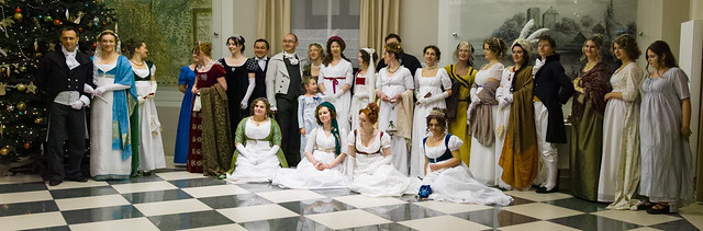 Regency ball at the castle in Oświęcim