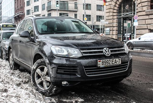 Belarus (Minsk) - VW Touareg