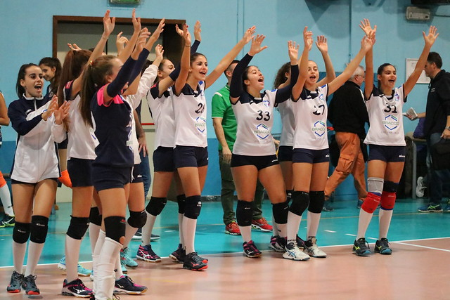 U16 Bianca 3 Novembre 2018 Bracco Pro Patria Volley - Pol. Cernusco 3 - 1