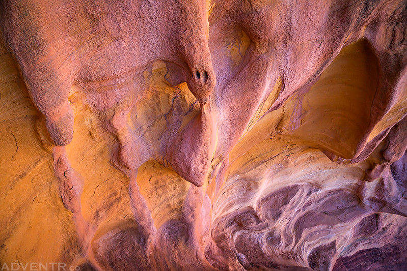 Pink & Yellow Rock