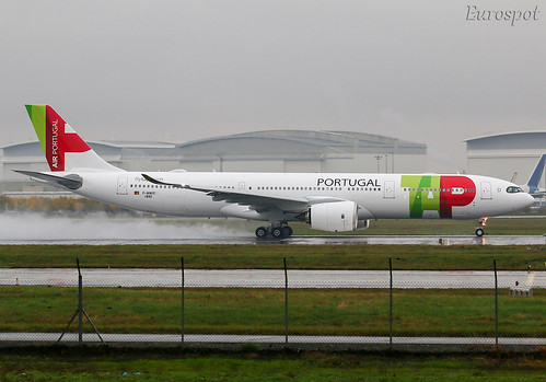 F-WWKE Airbus A330 Neo Air Portugal | by @Eurospot