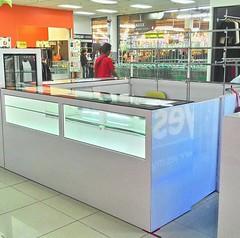 Display Counter at Super Market
