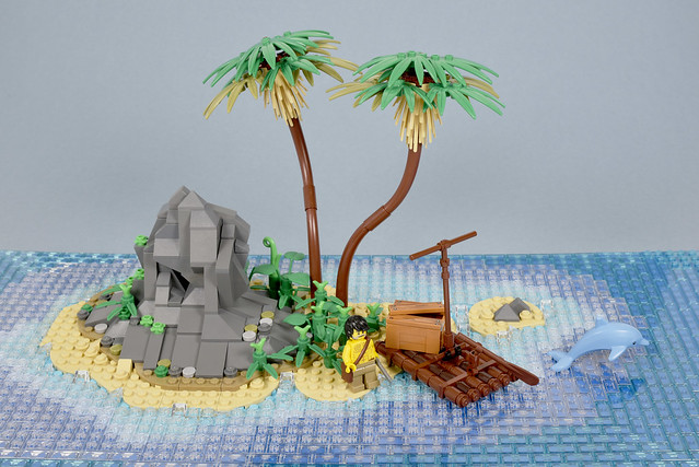 LEGO island Robinson Crusoe 1719 - atana studio