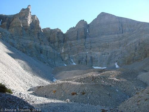 The Rock Glacier in Great Basin National Park, Nevada
