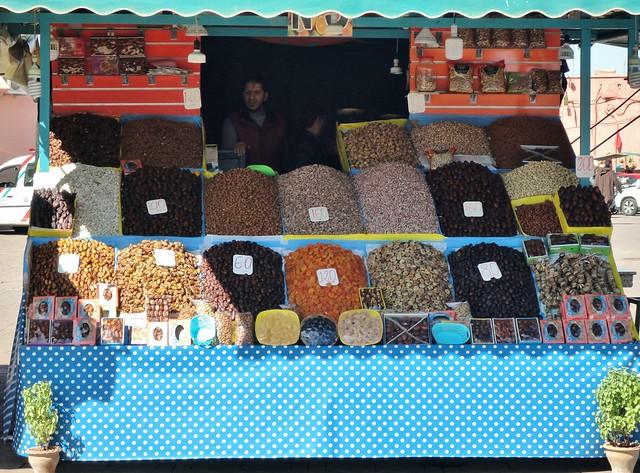 Marrakech - Piazza Jemaa el fna