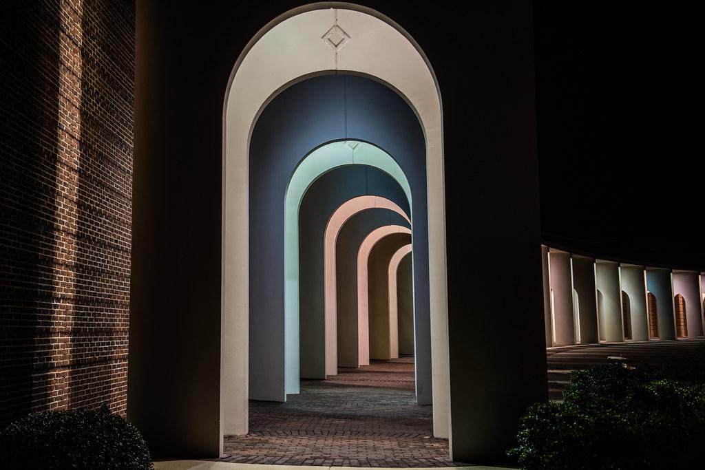 Path of pastel portals