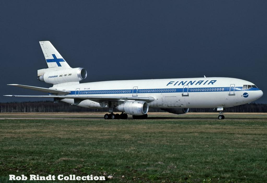 Finnair DC-10-30 OH-LHB