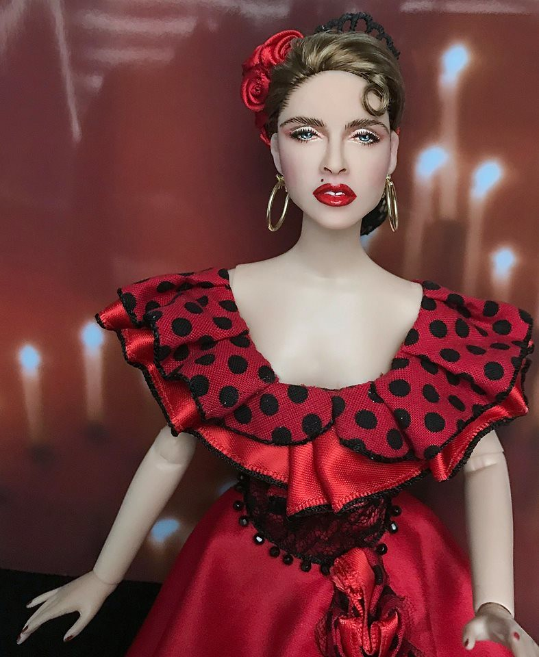 Madonna La Isla Bonita doll | From the music video | Cyguy