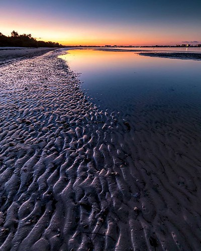 instagram ifttt sunrise sunset reflection florida beach bunchebeach fortmyers