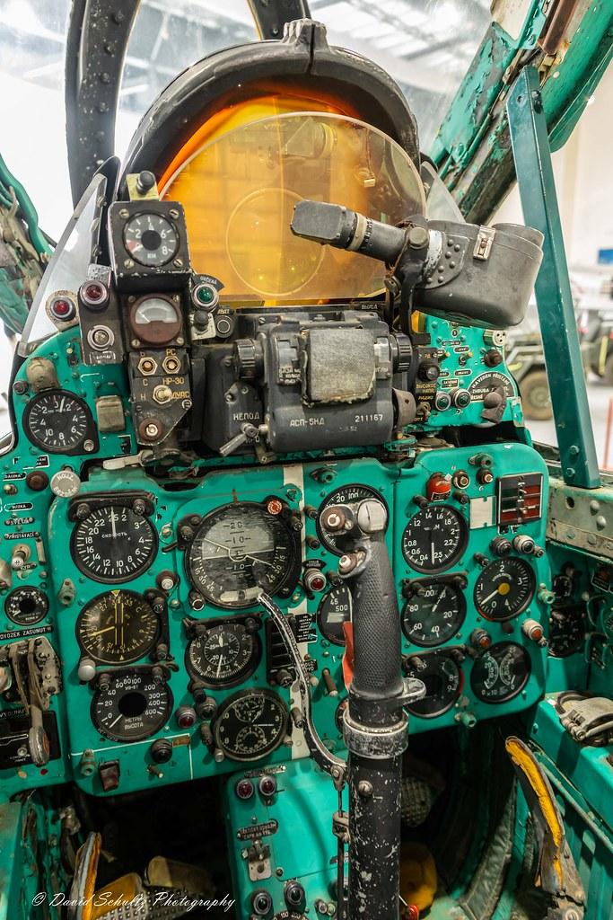Mikoyan-Gurevich MiG-21 cockpit   David G  Schultz   Flickr