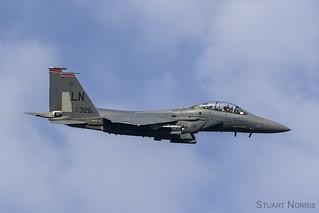 F-15E Strike Eagle 91-0326 - 494th Fighter Squadron RAF Lakenheath   by stu norris