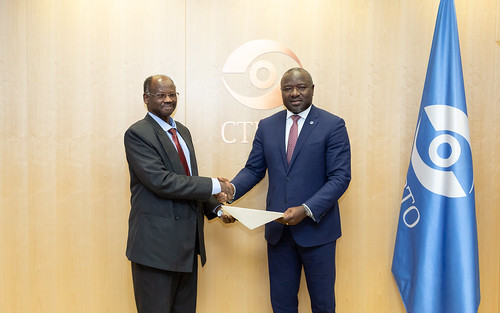 Presentation of Credentials by Sudan | by The Official CTBTO Photostream
