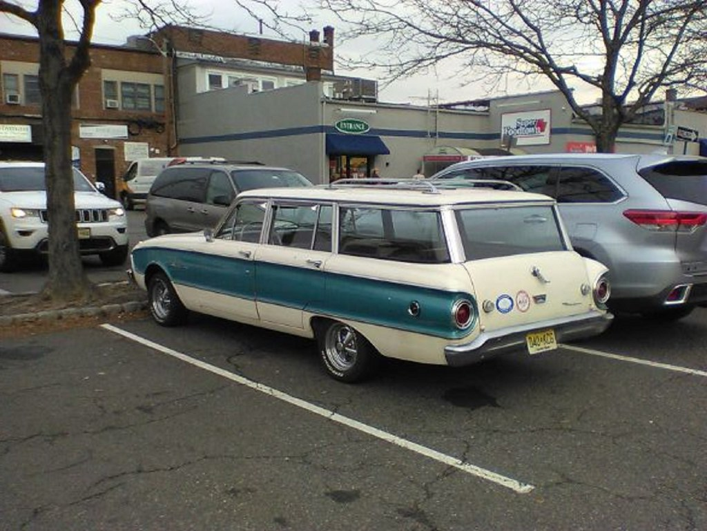 Two-Tone Ford Falcon Station Wagon | I found this old Ford F