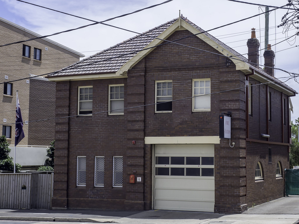 Guildford Fire Station, NSW Australia - see below