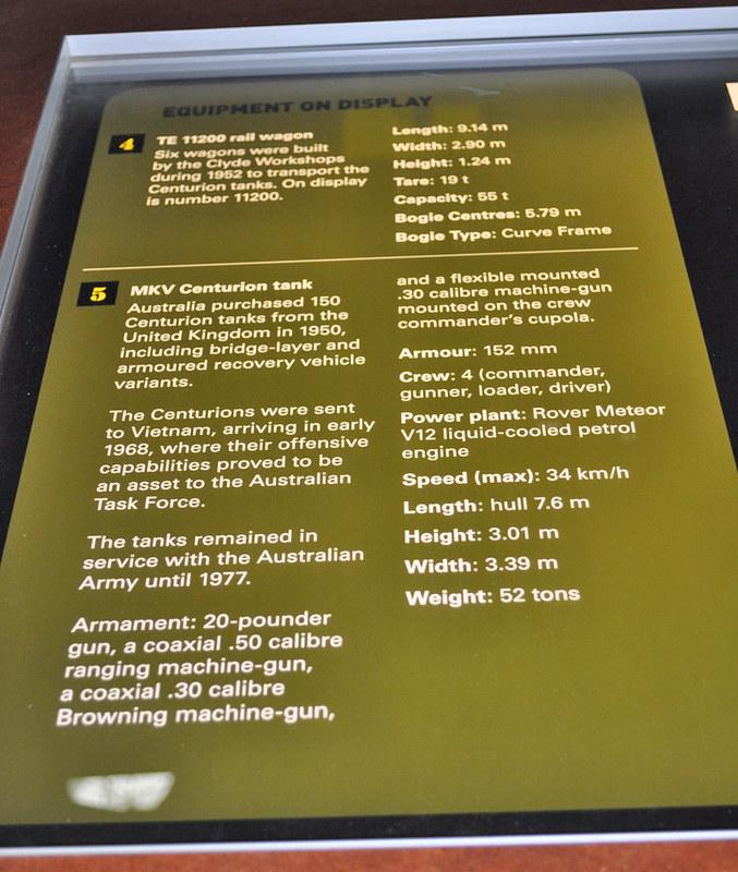 Centurion Tank Descriptor, Holsworthy 13-11-2018
