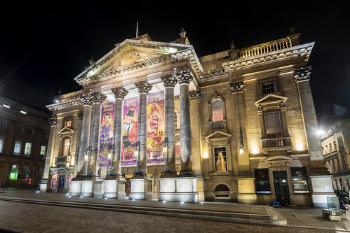 An image of the Theatre Royal on Grey Street in Newcastle upon Tyne. By Ben Ponsford.