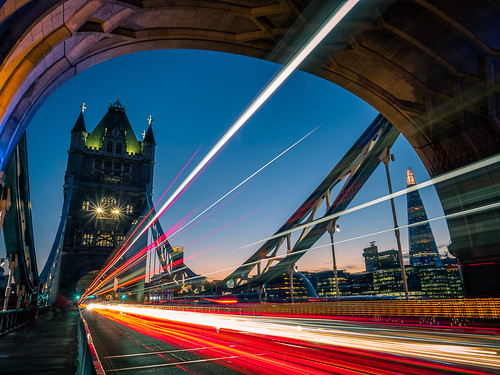Tower bridge at sunset - London, England - Travel photography | by Giuseppe Milo (www.pixael.com)
