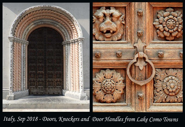 ITALY SEP 2019 - Lake Como Doors and Knockers (88 & 90)