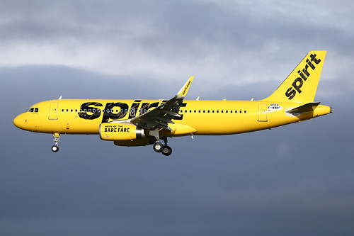 F-WWBC Airbus A320 Spirit   by @Eurospot