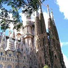 Detall de la Sagrada Família