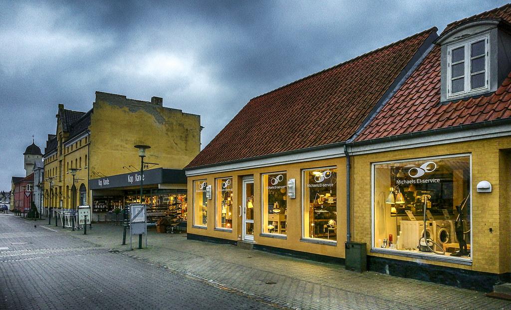 Street Shot from Saxkøbing