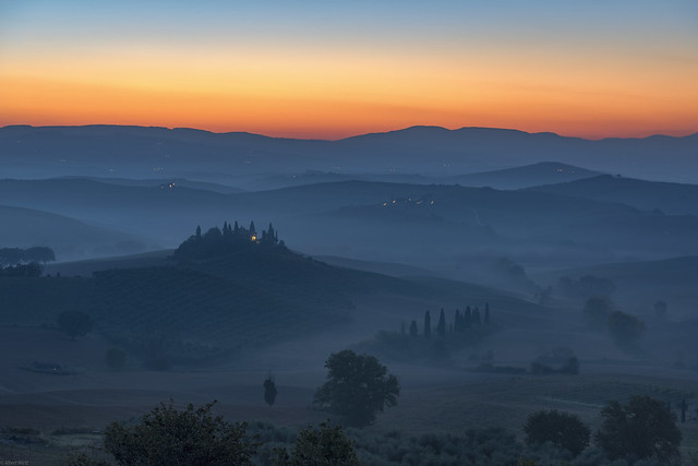 *Val d'Orcia @ First Light*