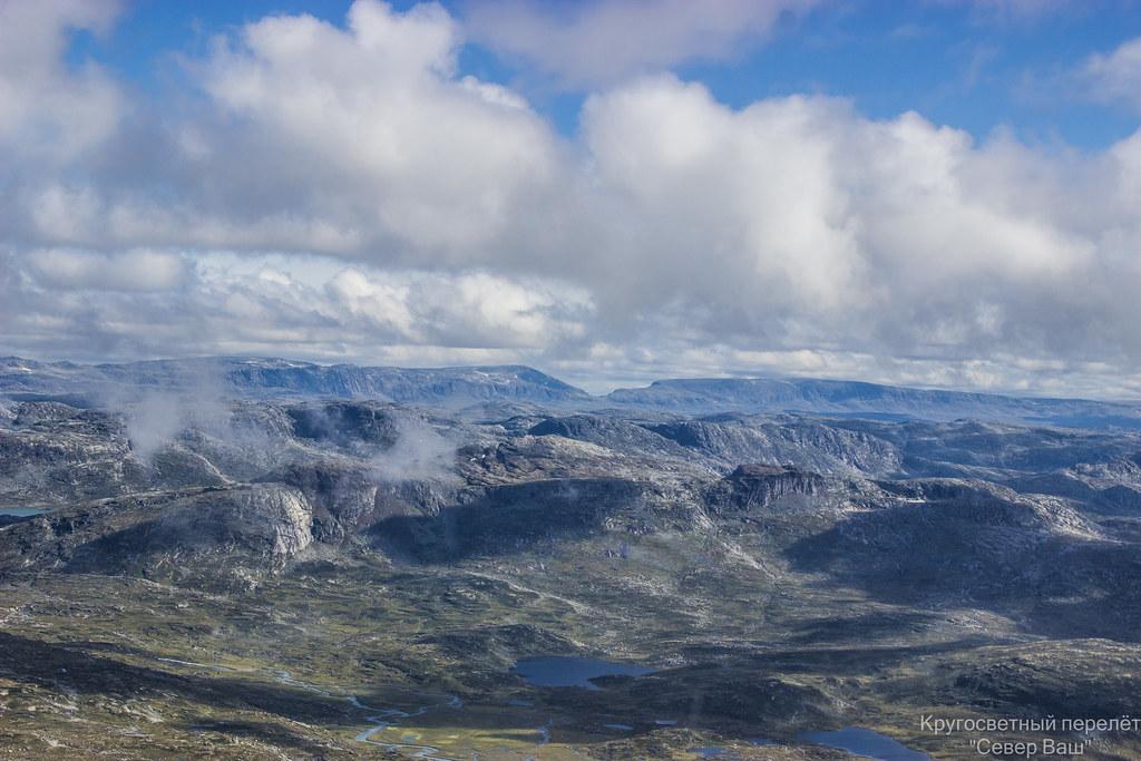 горы открыты, впереди Швеция