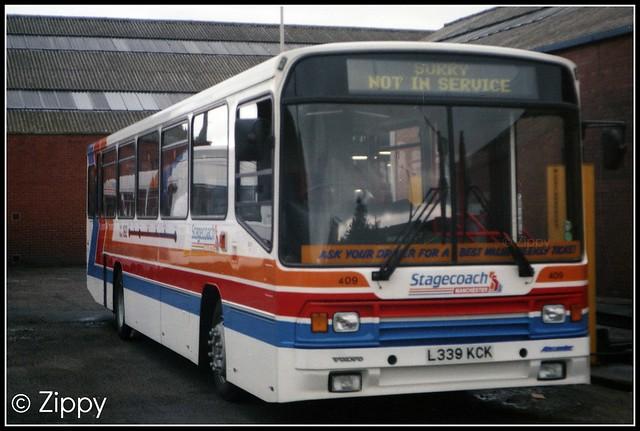 Stagecoach Manchester - 409 L339KCK